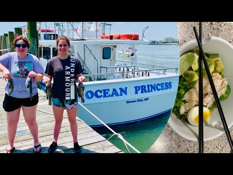 THE OCEAN PRINCESS CHARTER BOAT: Ocean City, Maryland (Catch, Clean, Cook)