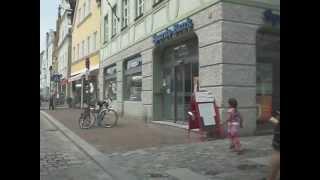 Stadt Freising nähe München - Bayern - 002 - Fussgänger