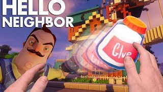 Realistic Minecraft: Hello Neighbor - What is the GLUE for?