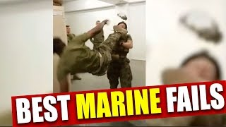 Army Vet Reacts to Marine Fails | Mandatory Fun Ep. 1