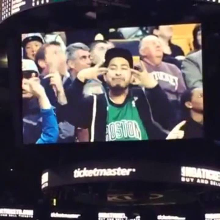 Youtube Warriors Come Out And Play: 2pac Alive At Celtics Vs Warriors