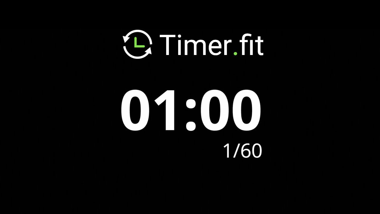1 minute interval timer youtube