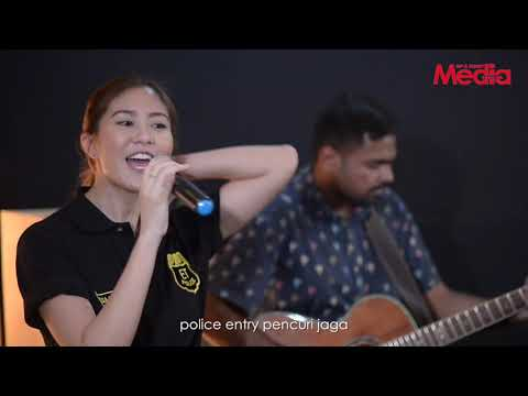 ELIZABETH TAN - POLICE ENTRY - Live Akustik - The Stage - Media Hiburan