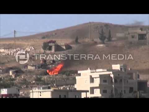 Syrian Militants Clash With The Lebanese Army Forces in Arsal