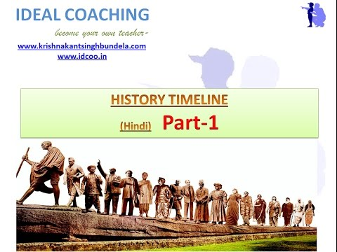 Indian history time line hindi part also youtube rh