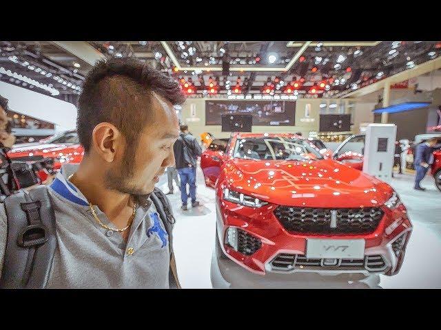 Chi ti?t chi?c WEY VV7 - Xe Trung Qu?c c?nh tranh v?i BMW và Audi |XEHAY.VN|