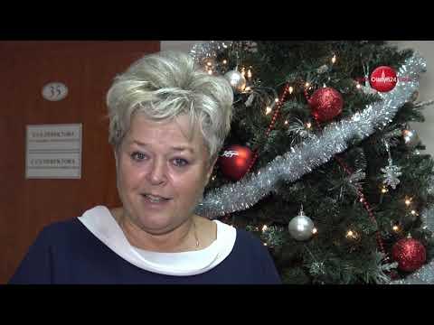 OLSZTYN24: Świąteczne życzenia dyrektor Jolanty Kłoczewskiej