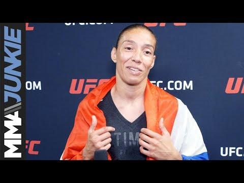UFC on ESPN+ 13: Germaine de Randamie post fight interview