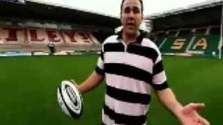 Northampton Saints crossbar challenge