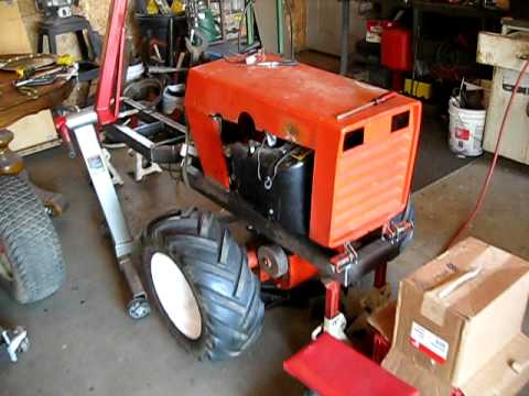 case 222 articulating 4x4 tractor project YouTube – Articulated Garden Tractor Plans