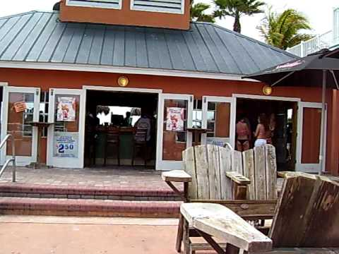 Jeff Hayes At The Undertow Beach Bar In St Pete Florida