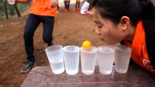 Outdoor Team Building games Picnic at Phat Tich pagoda