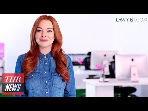 Lindsay Lohan Announced as Lawyer.com Spokesperson  THR
