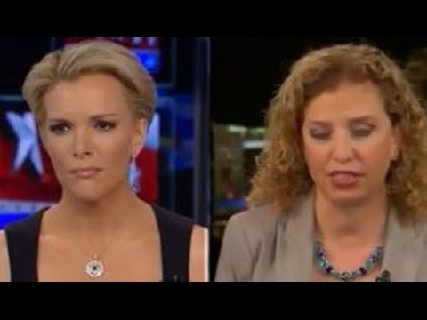 Megyn Kelly makes Debbie Wasserman Schultz flip out during interview
