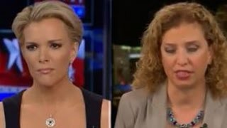 Megyn Kelly makes Debbie Wasserman Schultz flip out during interview