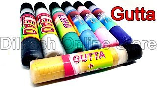 Gutta for Outlining - Local Lead for Painting - Dilkash Online Store