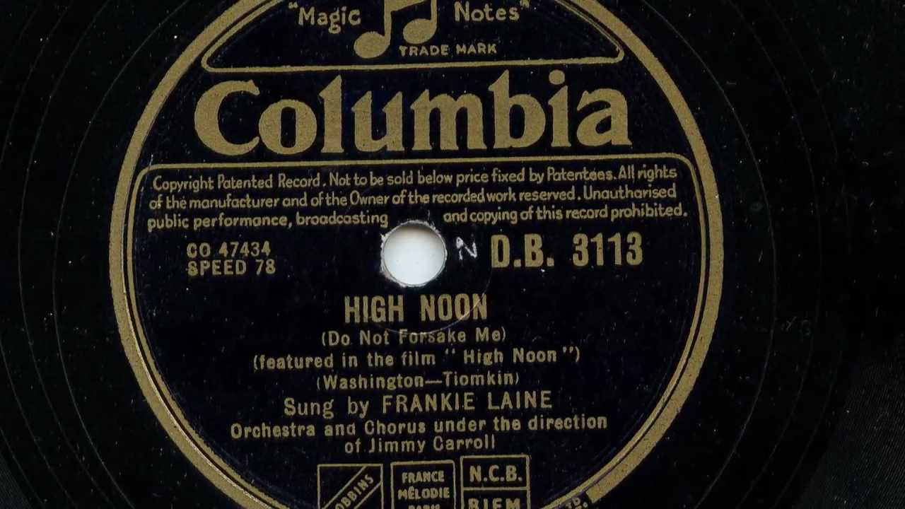 High Noon by Frankie Laine