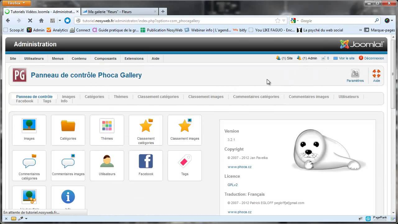 Phoca Gallery - Gestion des commentaires