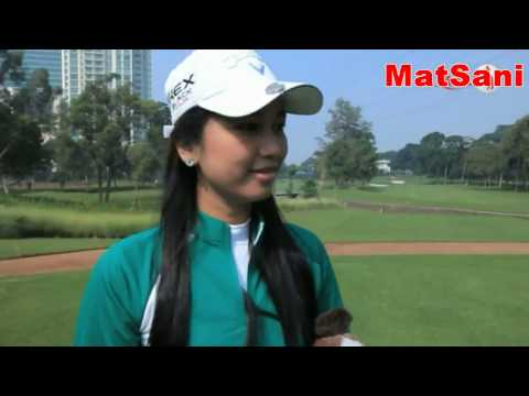 caddy training golf pro matsani yahya oleh agusta