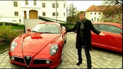 Moderation Alfa Romeo 8C Competizione Wolfgang Rother nimmt