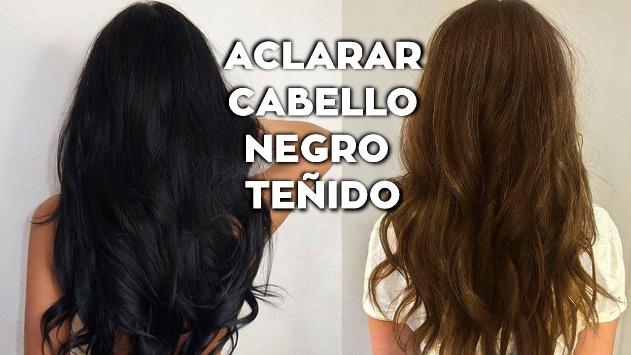 Cómo Aclarar Cabello Negro Teñido Poco A Poco En Casa Aclarar Cabello Sin Maltratarlo Day Arvizu Youtube