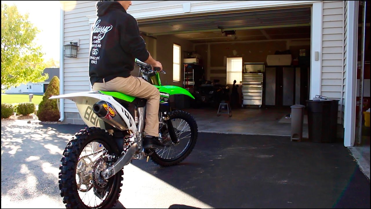 new dirt bike exhaust kx250f fmf 4 1