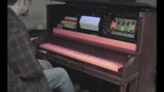 "Pizza Parlor Player Piano ""Put Another Nickel In"""