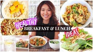 Healthy School Lunch & Breakfast Ideas!