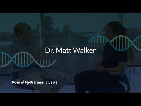 Lack of deep sleep linked with amyloid-beta build up in Alzheimer's disease | Matthew Walker