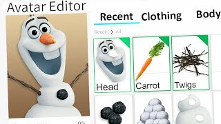 MAKING OLAF A ROBLOX ACCOUNT!! (Frozen 2)