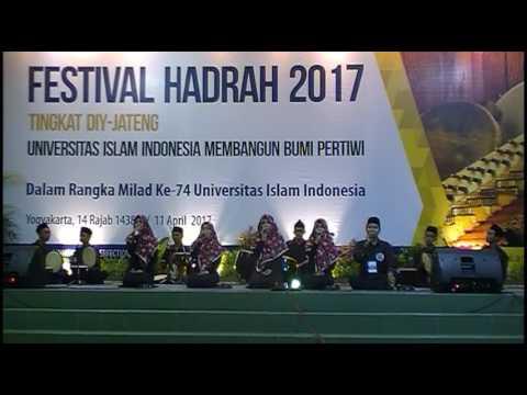 [JUARA 1] Hadroh AL PIARS Wonosobo (Peserta No.2) - Festival Hadroh Milad 74 UII 2017