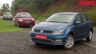 Volkswagen Ameo v Ford Figo Aspire v Maruti Suzuki Swift Dzire