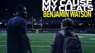 Benjamin Watson Supports IJM to Help Save Human Trafficking Victims