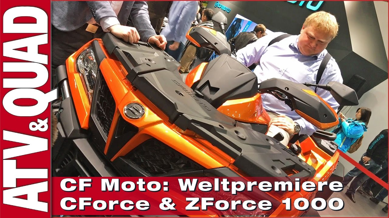 eicma 2016 cf moto weltpremiere cforce zforce 1000. Black Bedroom Furniture Sets. Home Design Ideas