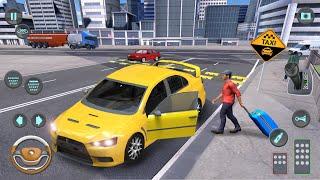 City Taxi Driving Simulator: PVP Cab Games | Android Gameplay screenshot 4