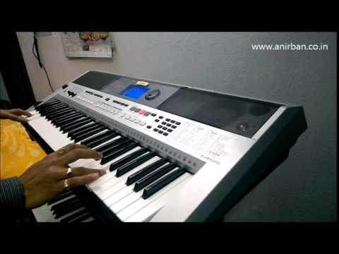 My heart will go on played on psr i455 funnydog tv for Yamaha keyboard i425