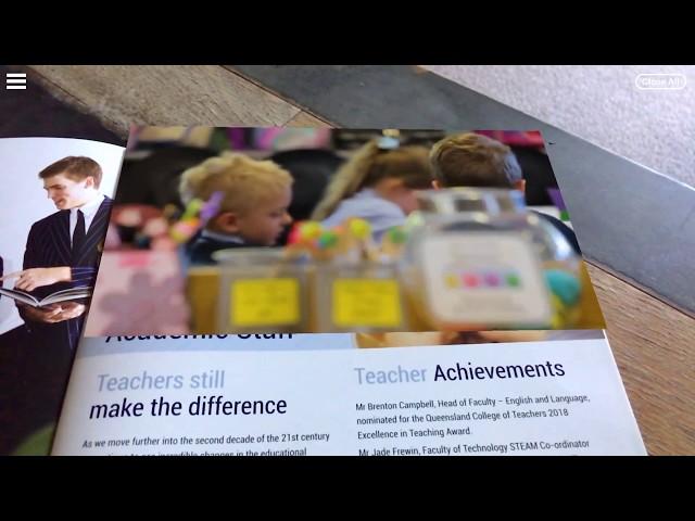 Sheldon College UnifiedAR-Enabled Brochure