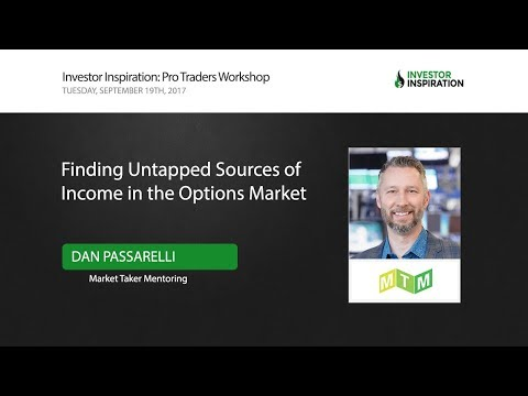 Finding Untapped Sources of Income in the Options Market | Dan Passarelli