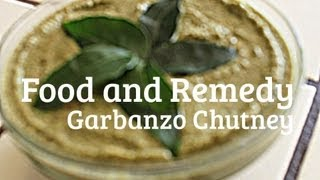 Healthy Garbanzo Beans (chick Peas) Chutney / Spread / Dip