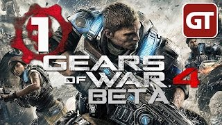 Thumbnail für das Gears of War 4: Multiplayer Beta Let's Play