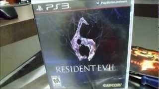 Unboxing Resident Evil 6 PS3: Capcom FDP ! [BR]