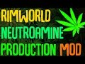 Rimworld Mod Showcase: Neutroamine Production Mod! Rimworld Mod Guide