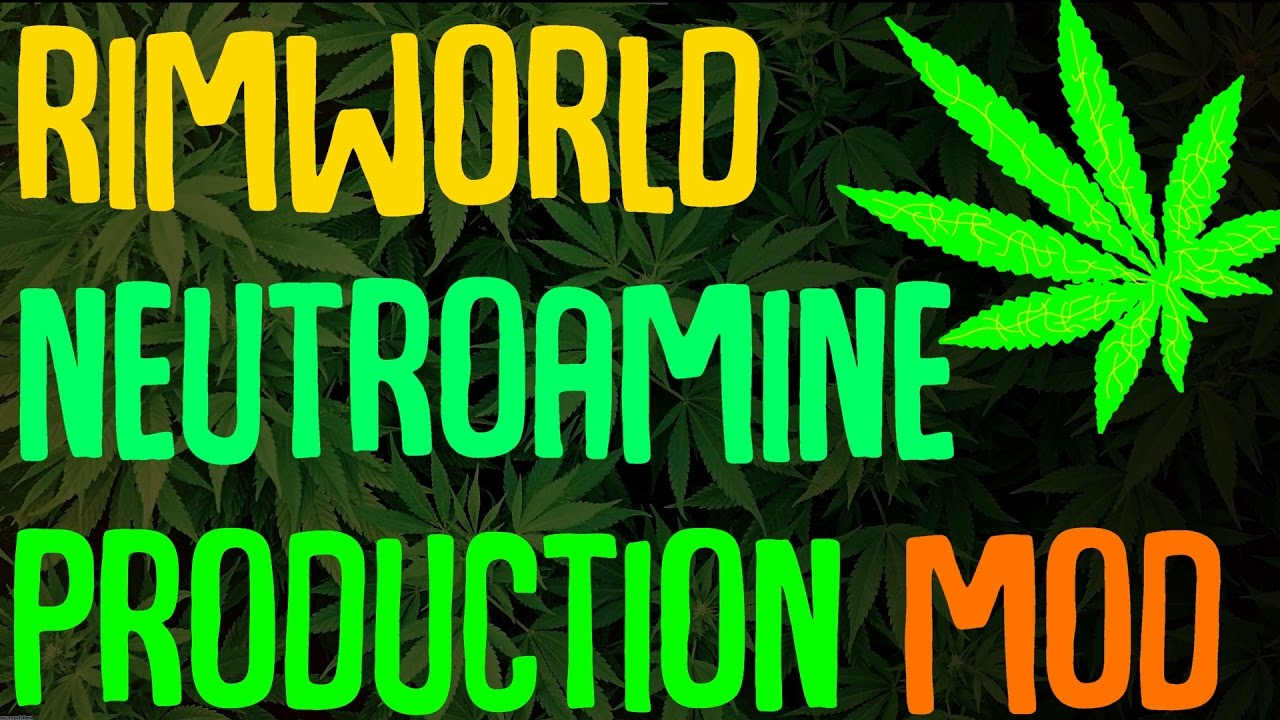 Rimworld Mod Showcase: Neutroamine Production Mod! Rimworld Mod Guide by  BaRKy