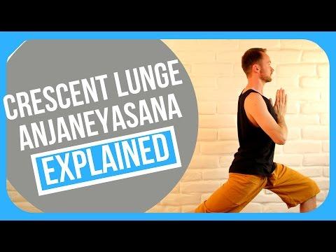 How to do Crescent Lunge Yoga Education (Anjaneyasana)