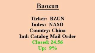bzun will this stock make you great eps q q closed in above avg vol 1 min video