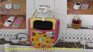 Bolsinha porta carregador de celular