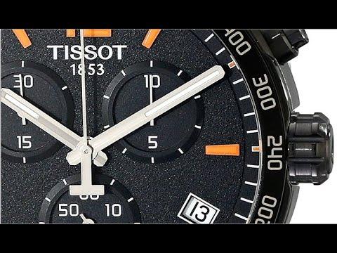 Tissot Men S T0954173605700 Quickster Chronograph Analog