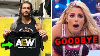 Roman Reigns Leave WWE for AEW & Alexa Bliss Says Goodbye - 5 Shocking WWE Rumors for August 2020