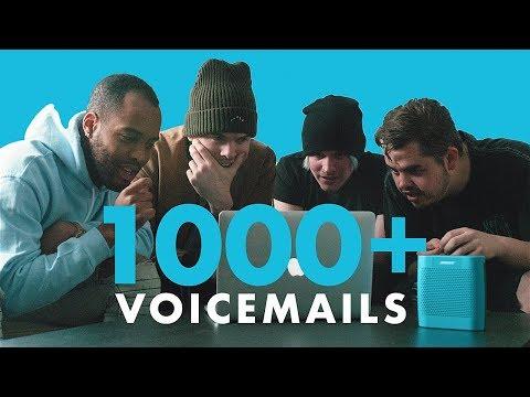 Fans left 1000+ Voicemails!
