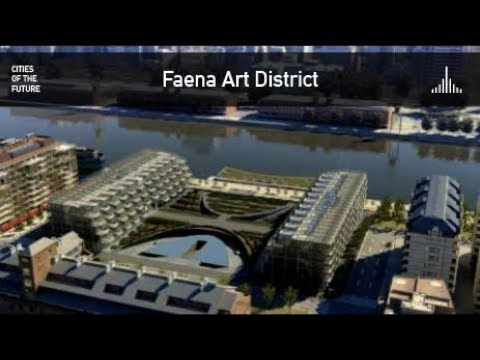 Future Buenos Aires - Faena Art District by Foster + Partners